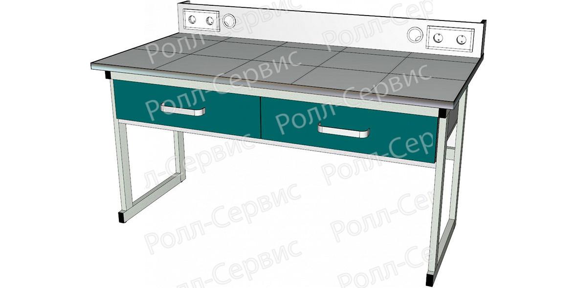 Стол лабораторный с электрооборудованием, фото