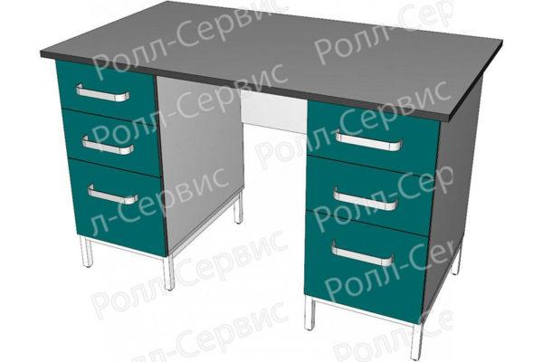 Стол лабораторный двухтумбовый 7, фото 3