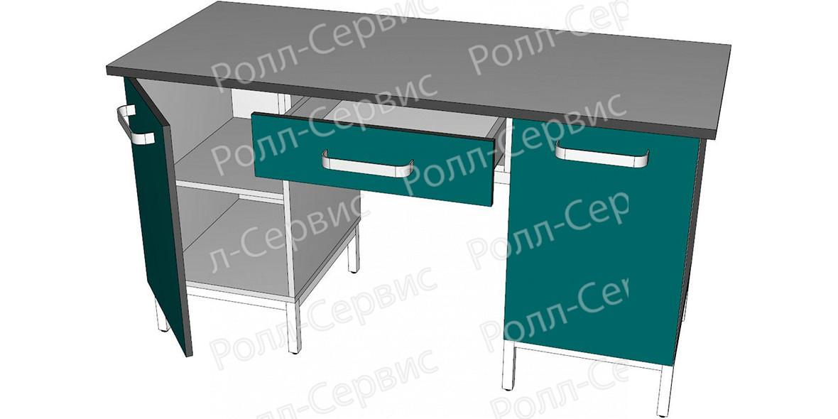 Стол лабораторный двухтумбовый 8, фото 2