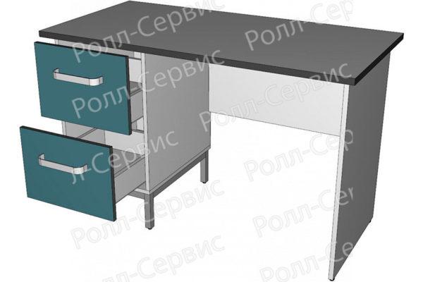 Стол лабораторный однотумбовый 3, фото 2