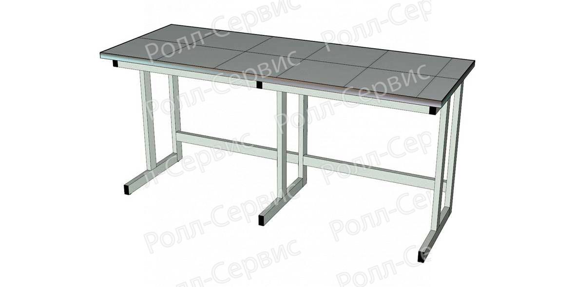 Стол лабораторный на металлокаркасе 2, фото 1