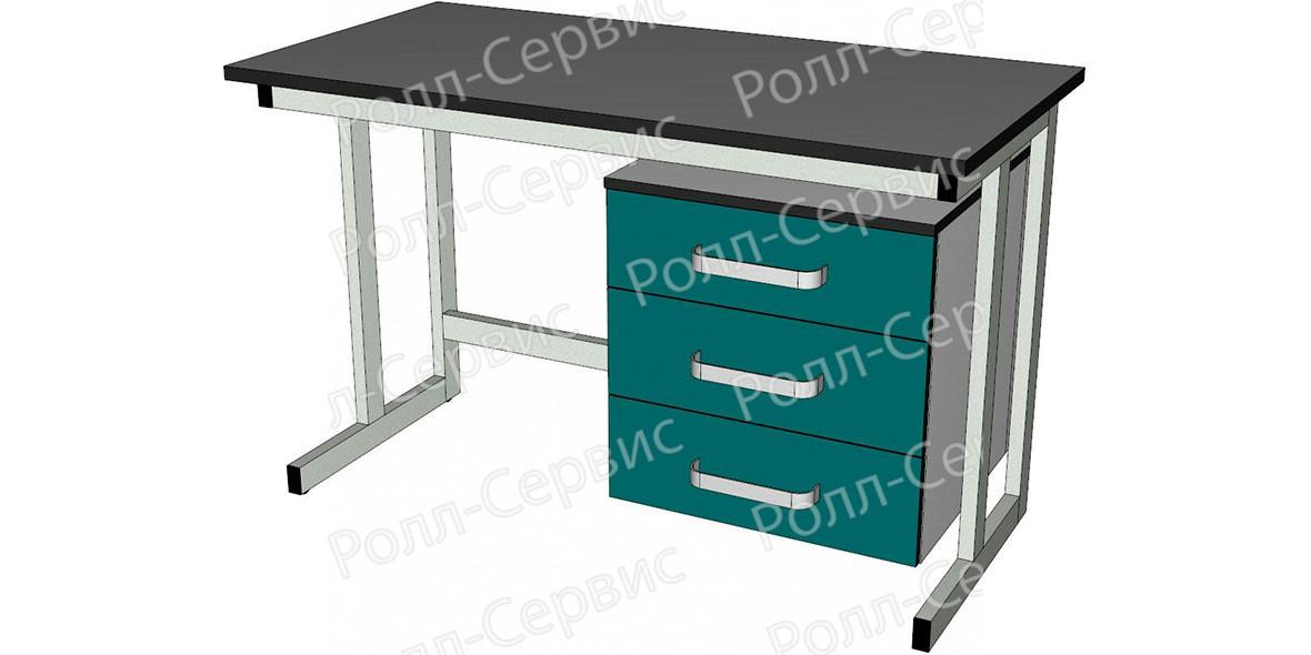 Стол лабораторный однотумбовый 1, фото 1