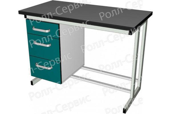 Стол лабораторный однотумбовый 2, фото 3