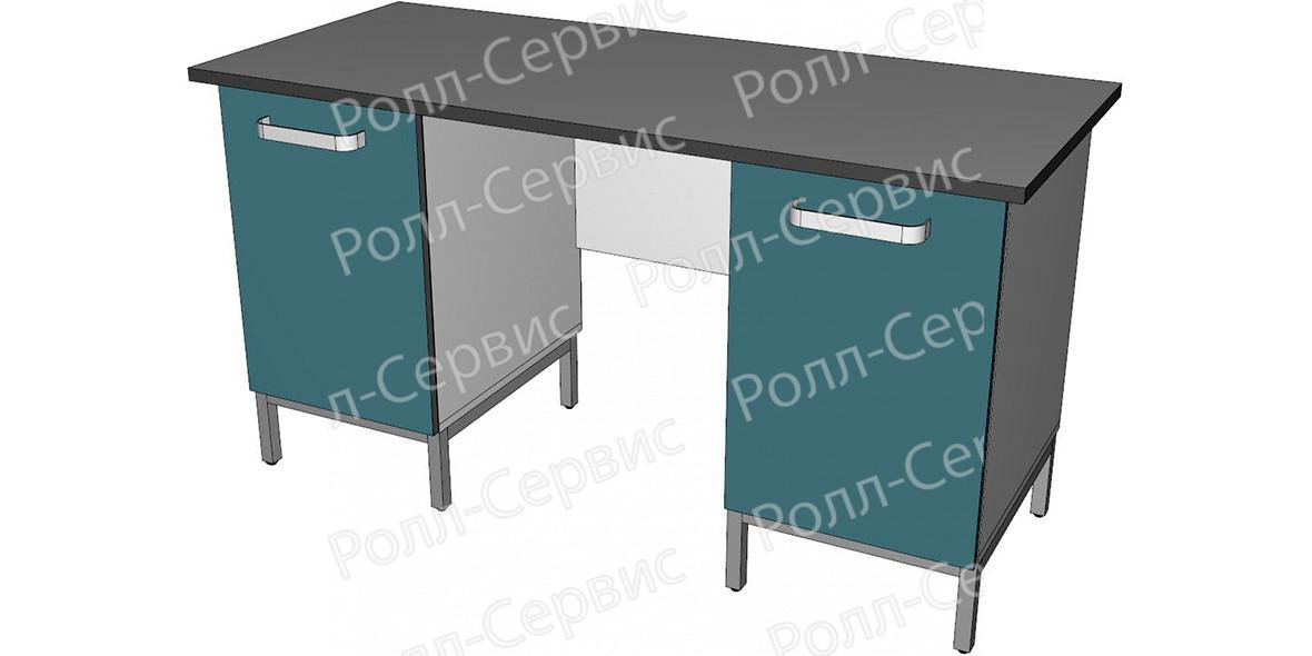 Стол лабораторный двухтумбовый 1, фото 1