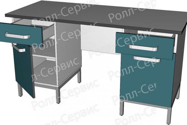Стол лабораторный двухтумбовый 3, фото 2