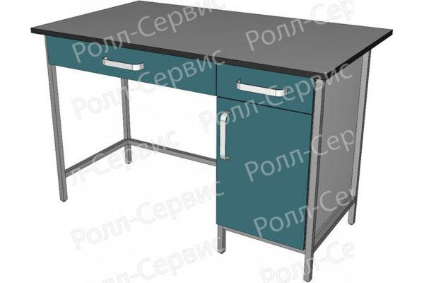 Стол лабораторный с ящиком под столешницей, фото 3