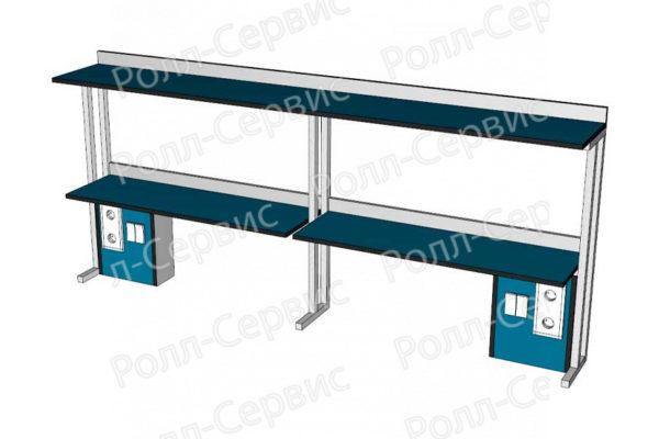 Надстройка LW-N-13Э2 к пристенным столам, фото