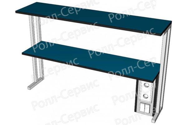 Надстройка LW-N-11Э к пристенным столам, фото