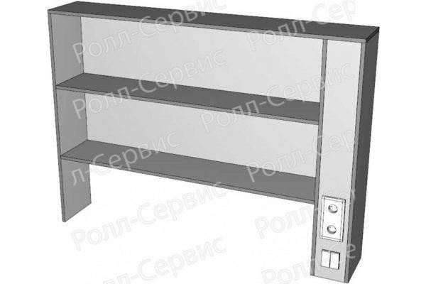 Надстройка LW-N-1Э к пристенным столам, фото