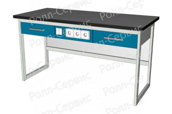 Усиленный лабораторный стол с электрооборудованием, фото